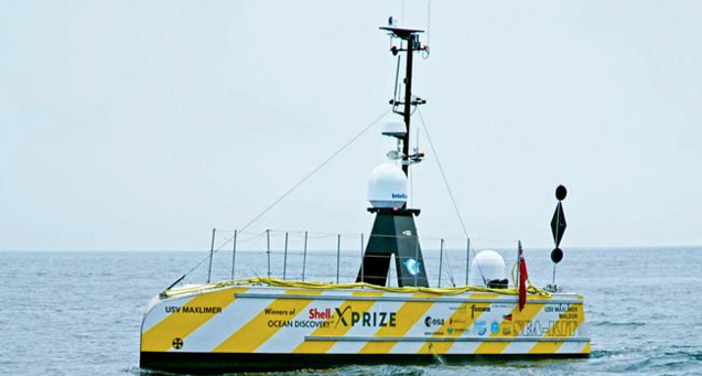 Robot Boat Completes Three-Week Atlantic Mission